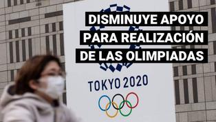 Japón: apoyo de nipones para realización de los Juegos Olímpicos disminuye