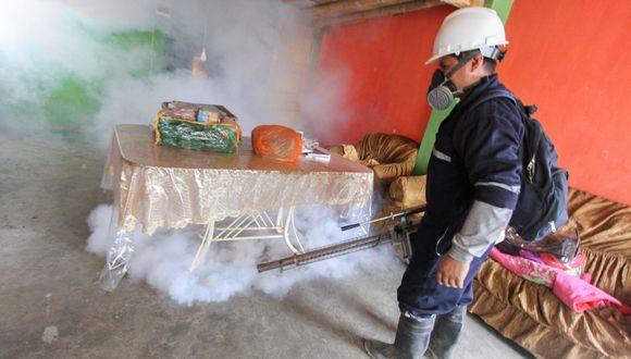 Autoridades de Salud de Ica reportaron 459 casos de dengue en la citada región.