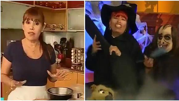 Magaly Medina cocinó y en el Wasap de JB Mascaly la parodió así (VIDEO)