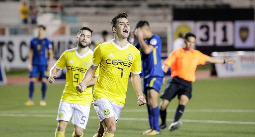 Bienve Marañon - 40 goles en 23 partidos / 40 con Ceres-Negros (Foto: Ceres)