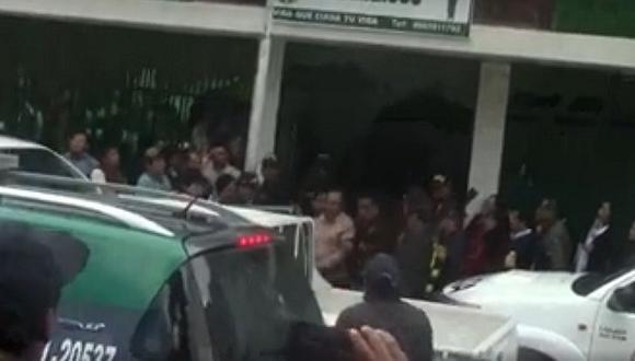 Áncash: alcalde del distrito de San Marcos es detenido recibiendo coima (VIDEO)