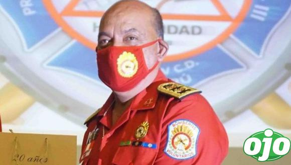 Tras 44 días de tratamiento en UCI, equipo médico multidisciplinario del hospital Guilermo Almenara logra exitosa recuperación del comandante de bomberos Mario Casaretto. (Foto: Facebook/Comandante Leonidas Telenta)