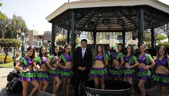 Surco: Fiesta de la Vendimia tendrá cuatro días de música, fiesta y vino
