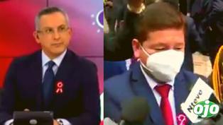 """Premier Guido Bellido dice que """"todo va estar bien"""" y Pedro Tenorio exclama: """"¿nada más?"""""""