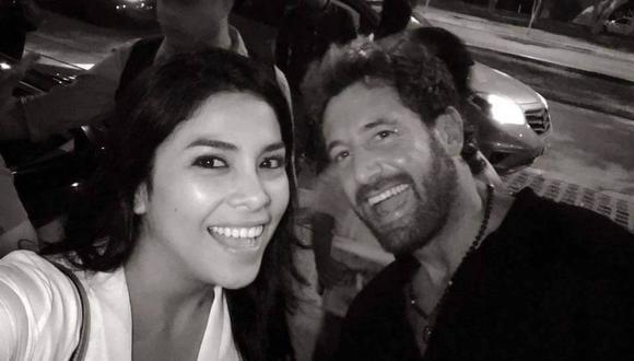 Maricarmen Marín 'loca' con la llegada de Gabriel Soto a Lima [FOTOS]