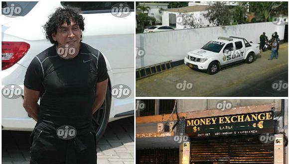 """""""Peter Ferrari"""" es detenido y allanan 11 inmuebles vinculadas al lavado de activos (VIDEO)"""