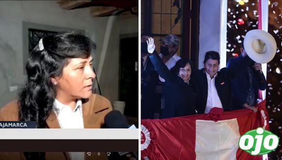 Lilia Paredes, esposa de Pedro Castillo: lo que dijo la futura primera dama