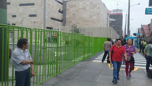 APEC: cierran calles aledañas al Centro de Convenciones de Lima