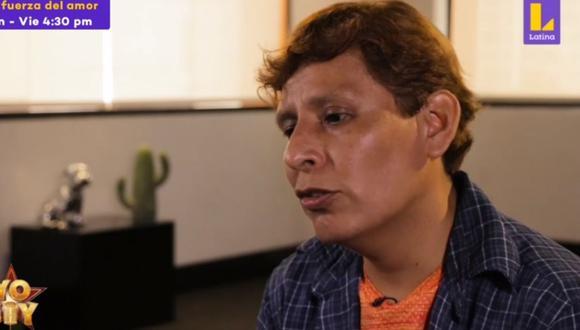 "Hugo Apaza volvió a ""Yo soy: grandes batallas"" para retar a ""Dyango"" (Jairo Tafur) en un revancha. (Foto: Captura Latina)."