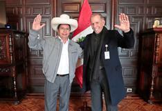 """Castillo jala a Ricardo Belmont como asesor presidencial: """"su experiencia estará al servicio del Perú"""""""