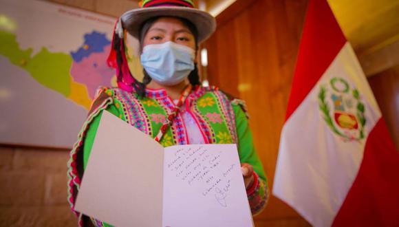 Blanca Flor se ha convertido en una inspiración en toda la región Arequipa. (Foto: Andina)