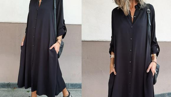 El vestido camisero es una prenda ligera que puedes usar cómodamente sabiendo que modelo le queda a tu silueta. (Instagram: @yucca.bsas)