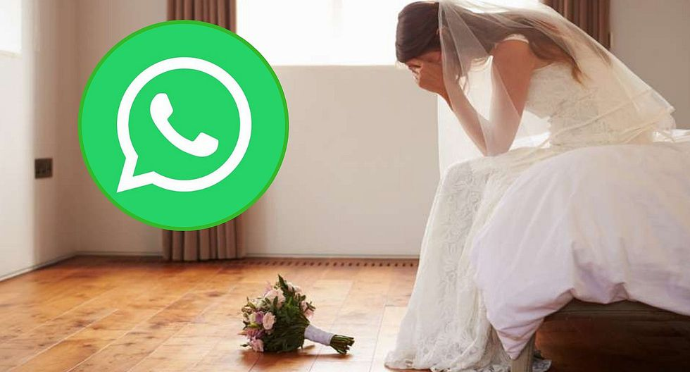 Novia es plantada el mismo día de su boda por culpa del WhatsApp