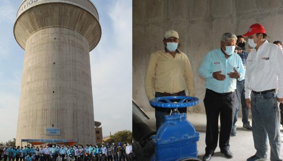 Ica: Inauguran reservorio que dotará con más agua potable a 12 mil ciudadanos (Foto: OTASS)