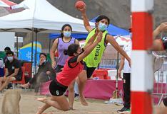 Competencia de Beach Handball tuvo gran acogida en el Complejo Panamericano