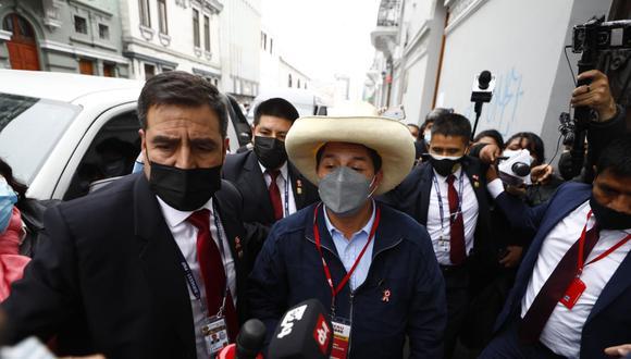 Pedro Castillo participó en el congreso nacional de Perú Libre este sábado 24 de julio. (Foto: GEC)