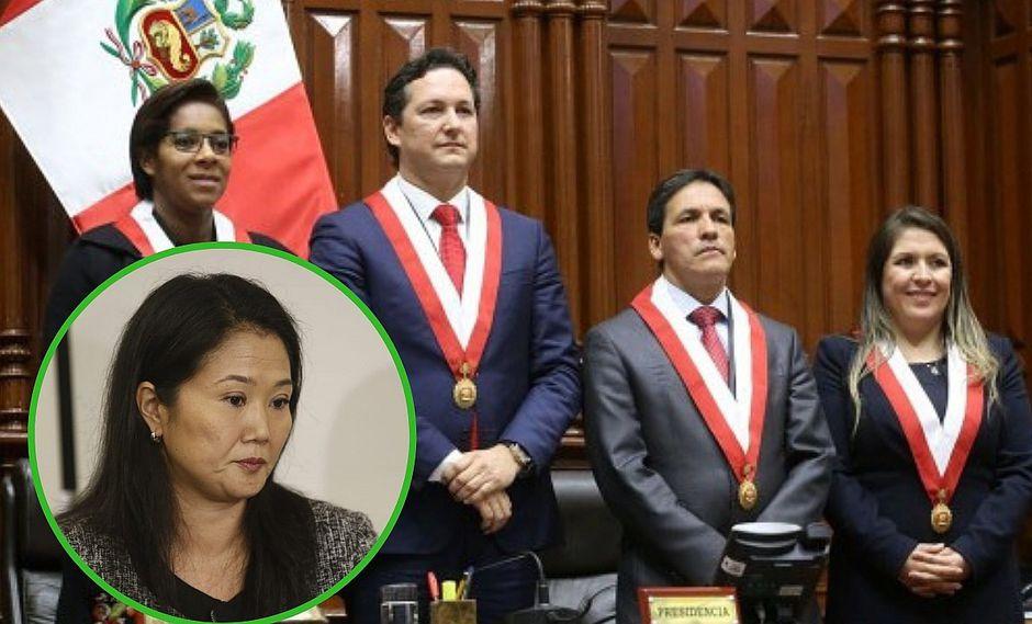 "Leyla Chihuán, Yeni Vilcatoma y Segundo Tapia piden ""tiempo"" a Fuerza Popular (FOTO)"