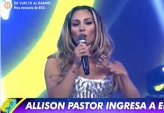 "Allison Pastor ingresa a ""Esto Es Guerra"": ""Me encanta competir"" | VIDEO"
