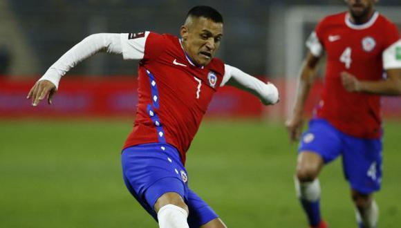 Alexis Sánchez regresó a la lista de Chile para afrontar la jornada de Eliminatorias. (Foto: AFP)