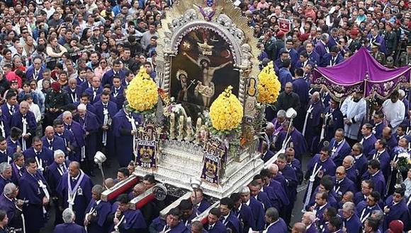 En este mes de octubre no se realizará la tradicional procesión del Señor de los Milagros debido al COVID-19. (Foto: GEC)