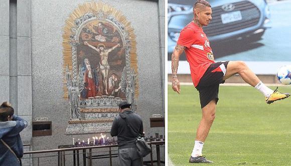 Perú vs. Argentina: hinchas le piden triunfo al Señor de Los Milagros (FOTOS)