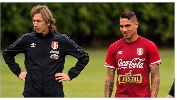 Ricardo Gareca le dejó mensaje a Paolo Guerrero con miras a la Copa América