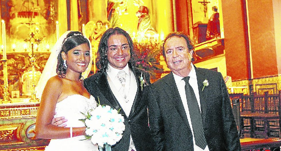 La felicidad de Dyango en el matrimonio de su hijo menor en Lima