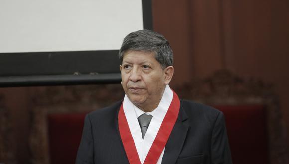 El magistrado del TC Carlos Ramos Núñez. (Foto: GEC)