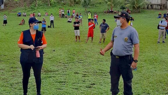 Loreto. Pobladores atraparon a agente municipal cuando se daba a la fuga luego de matar a su vecino. (PNP)