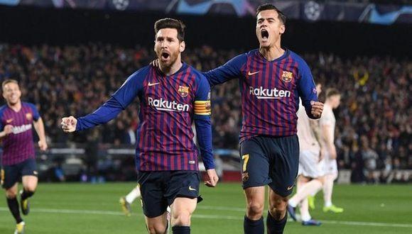 Barcelona, con dos goles del genial Messi, vence 3-0 al United