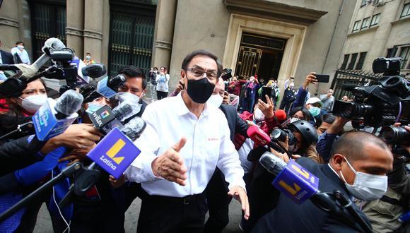 Martín Vizcarra descartó haber hablado con algún partido pero no descartó postular al Congreso en el 2021. (Foto: GEC)