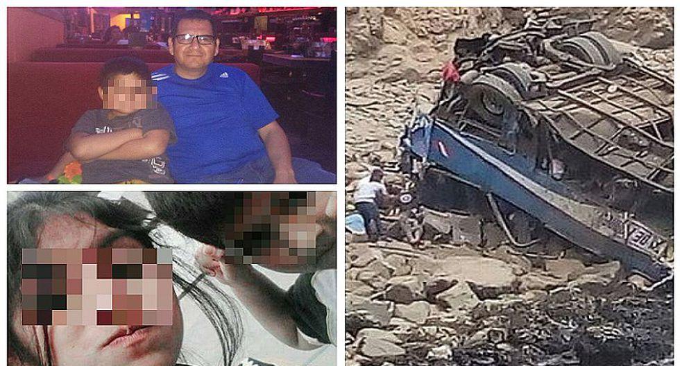 Accidente en Pasamayo: esposos y sus dos pequeños hijos murieron en la tragedia