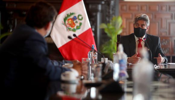 Sagasti asumió la presidencia de la República el 17 de noviembre, tras la renuncia de Manuel Merino. (Foto: Presidencia)