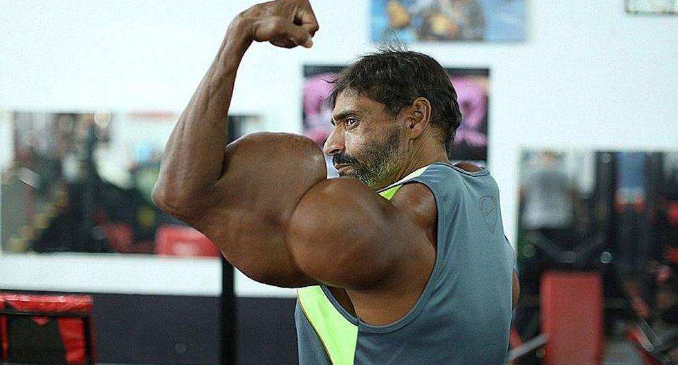 ¿Hulk?, conoce al fisiculturista y su obsesión por ser cada vez más grande [FOTOS]