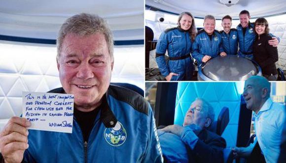 """""""¡Es increíble, increíble!"""", dijo William Shatner."""
