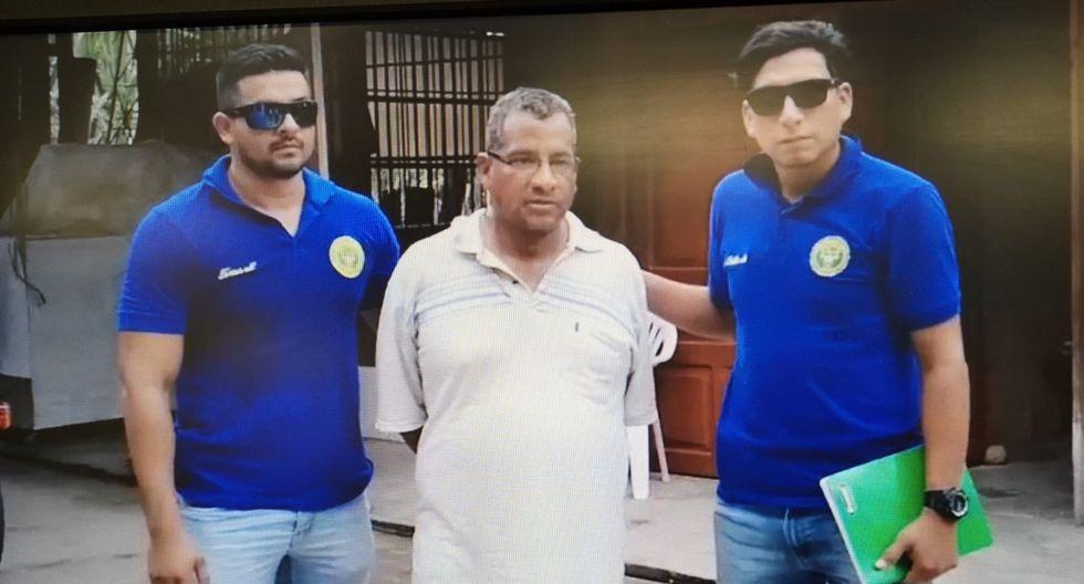 Ucayali. Presunto pedófilo fue capturado el viernes último en un hospedaje. (GEC)
