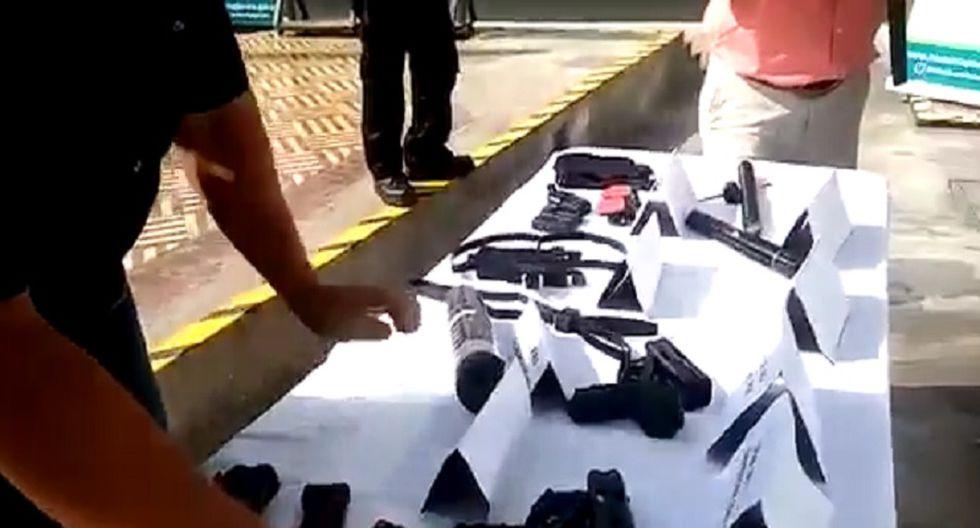 Magdalena: Estas son las armas que usarán los serenos [VIDEO]