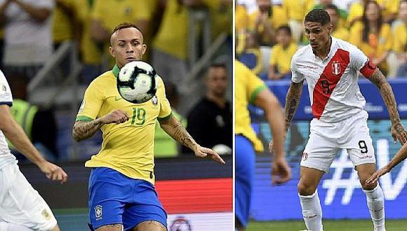 """Everton sobre el Perú vs. Brasil: """"Espero que Paolo Guerrero no salga feliz el domingo"""""""