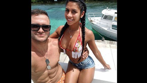¿Desnudos y en la ducha? Ámbar Montenegro y Fabio Agostini causan indignación por esta foto