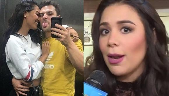 """""""La Chama"""" deja entrever que sigue ligada con Nicola Porcella, pese a que estaría con Romina Lozano"""
