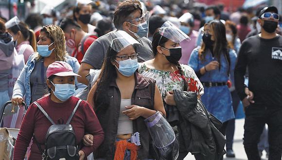 Ciudadanos que residen en Lima Metropolitana y el Callao continuarán acatando restricciones para mitigar avance del COVID-19. (Foto: Eduardo Cavero)