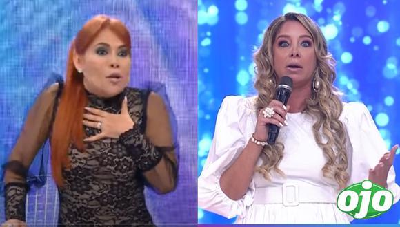 Magaly Medina critica a Sofía Franco. (Foto: Captura ATV / América TV).
