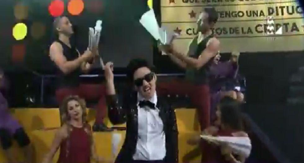 Los Reyes del Playback: Ximena Hoyos sorprende con el 'Gangnam style' [VIDEO]