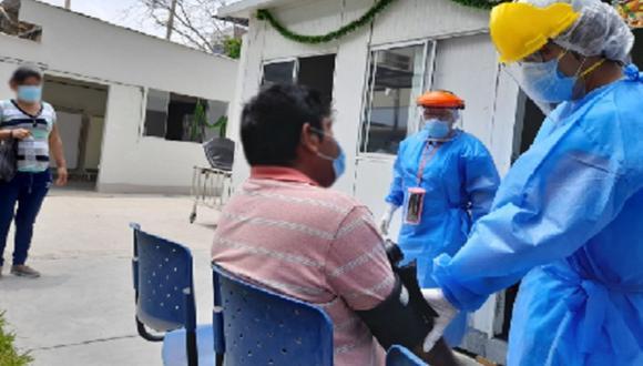 Reportan aumento de casos COVID-19 en jóvenes en el Hospital Regional de Ica (Foto: Andina)