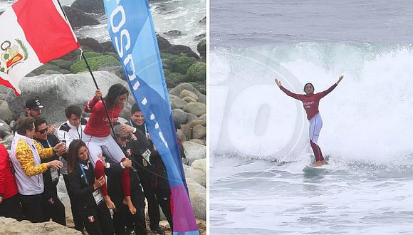 Daniella Rosas GANA medalla de oro en Open Surf en los Juegos Panamericanos Lima 2019