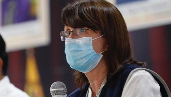 La ministra de Salud, Pilar Mazztti, dijo que esta distribución se está realizando con ayuda de un avión de las Fuerzas Armadas que viene recorriendo diferentes regiones del país (Foto Archivo)