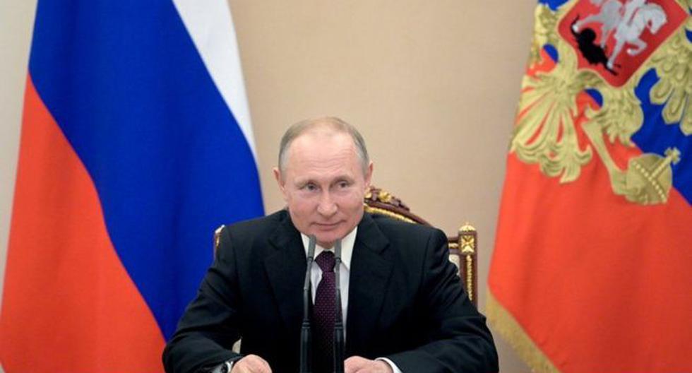 El presidente de Rusia, Vladimir Putin, anunció este martes que su país desarrolló la primera vacuna contra el coronavirus Covid-19. (AFP).