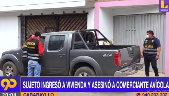 El comerciante David Pardo Ayala fue asesinado a balazos en su vivienda ubicada en la urbanización Santo Domingo (Carabayllo). (Foto: Latina)