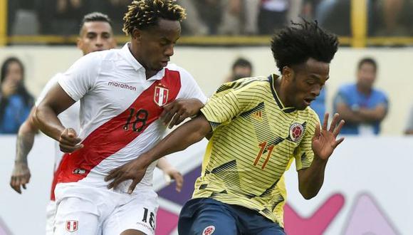 Perú vs. Colombia: chocan en Goiania por el Grupo B de la Copa América. (Foto: AFP)