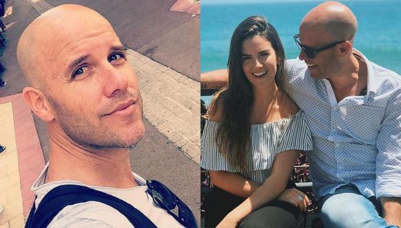 Gianmarco Zignago disfruta de vacaciones junto a su familia en Italia